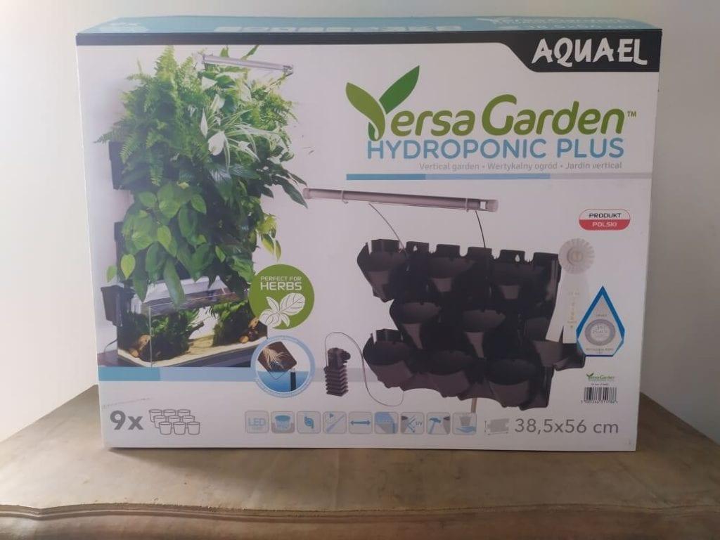 Emballage du Aquael versa garden hydroponic plus